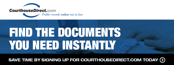 sign up for CourthouseDirect.com